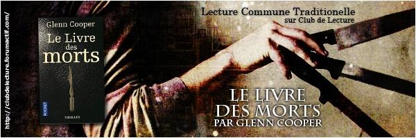 LE LIVRE DES MORTS (Tome 1) de Glenn Cooper 31921610