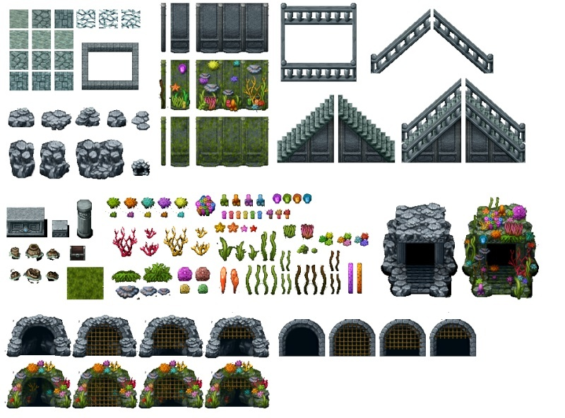 Collage Tileset Tilee310