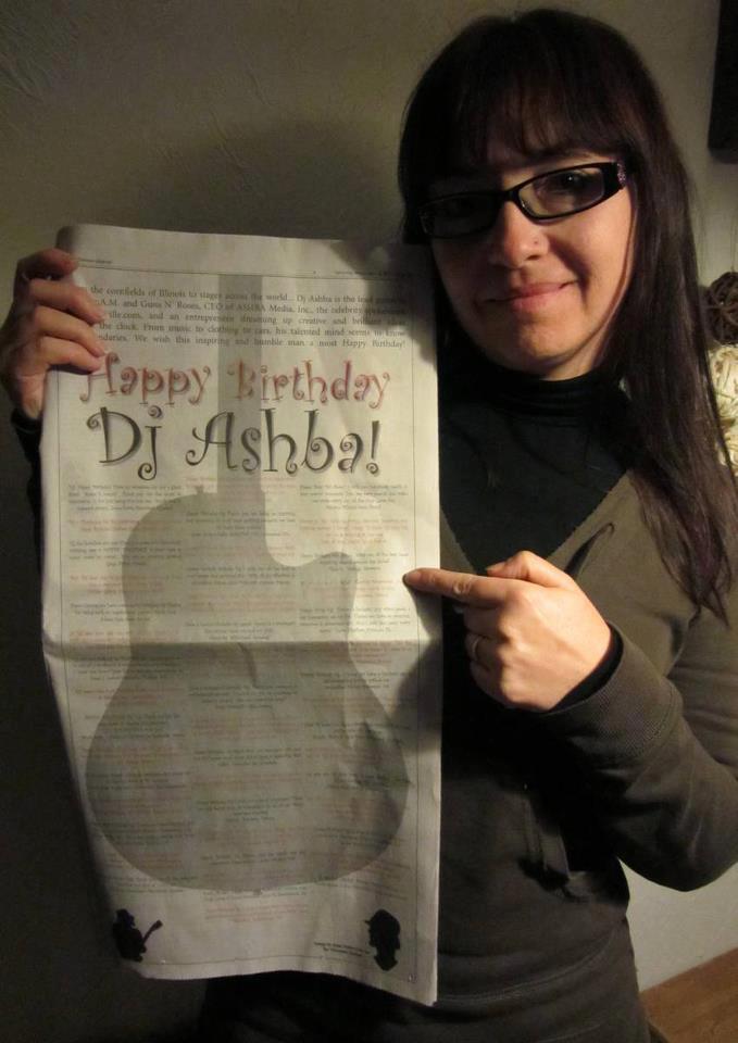 Dj découvre le journal pour son anniversaire  16206_10