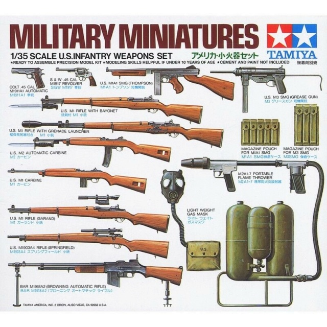 US infantry weapon set  111