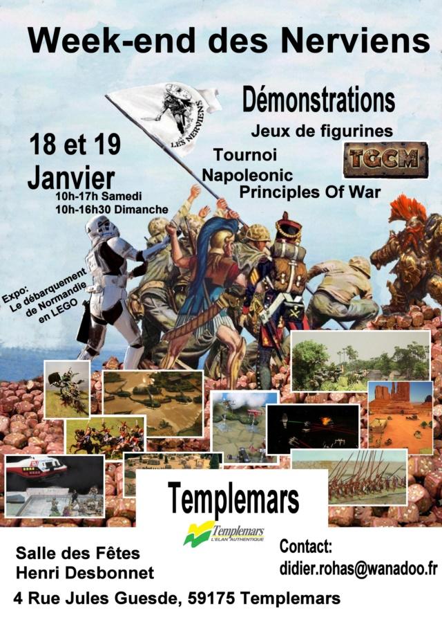 week-end des nerviens 18 et 19 Janvier 2020 Templemars(59) 1819_j10