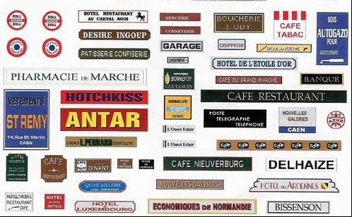 affiches ,pub etc...WWII France10