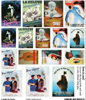 affiches ,pub etc...WWII France11
