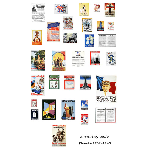 affiches ,pub etc...WWII France12
