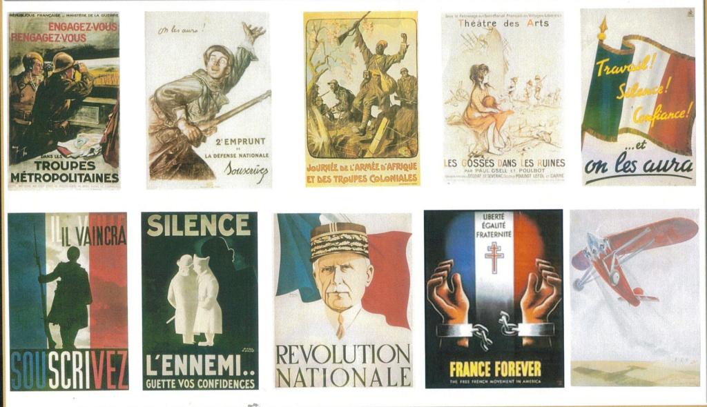 affiches ,pub etc...WWII French13