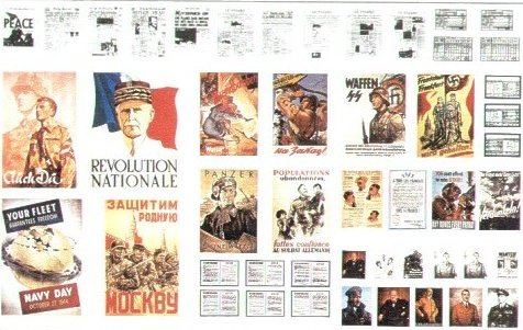 affiches ,pub etc...WWII Peintu10