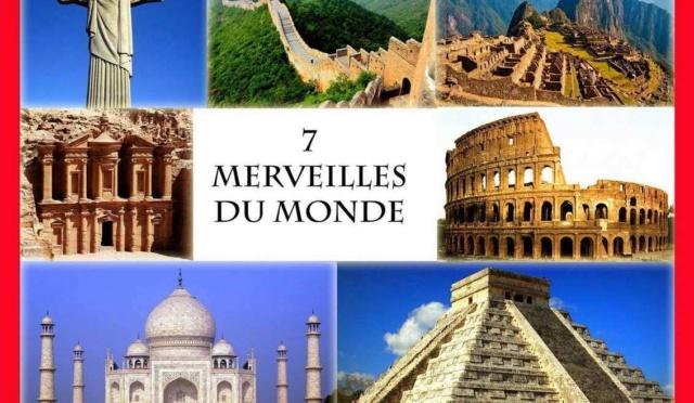 Les merveilles du monde, du monde antique au monde moderne en 14 étapes. 7wonde12