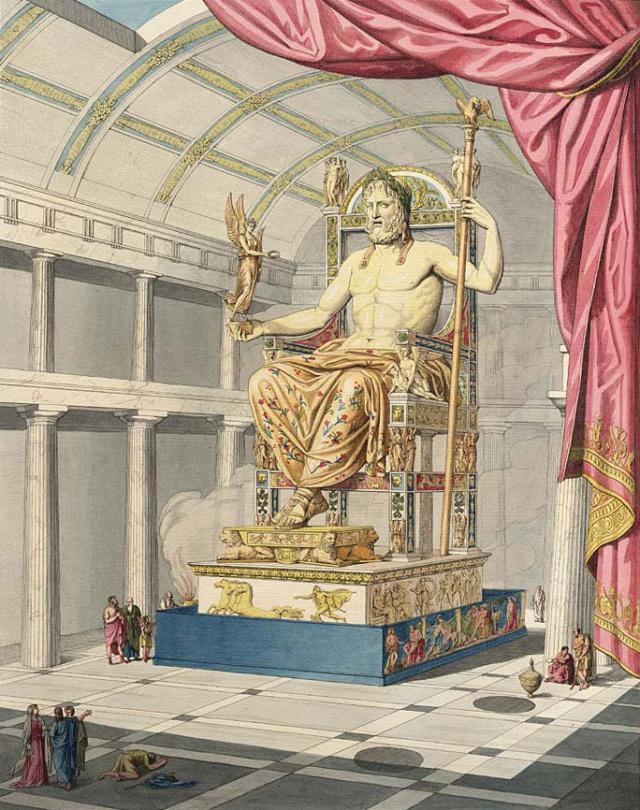Etape 2 - Tour les 14 merveilles du monde [Régulier] - La Statue chryséléphantine de Zeus. Le_jup10