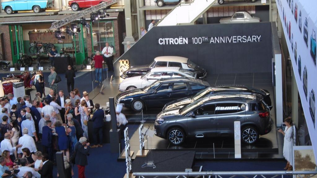 """""""Citroën 100 Years"""" - Au musée Autoworld de Bruxelles Dsc02049"""