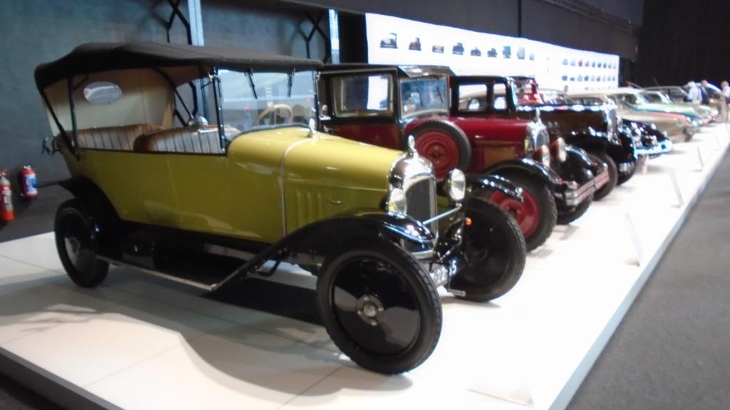 """""""Citroën 100 Years"""" - Au musée Autoworld de Bruxelles Dsc02055"""