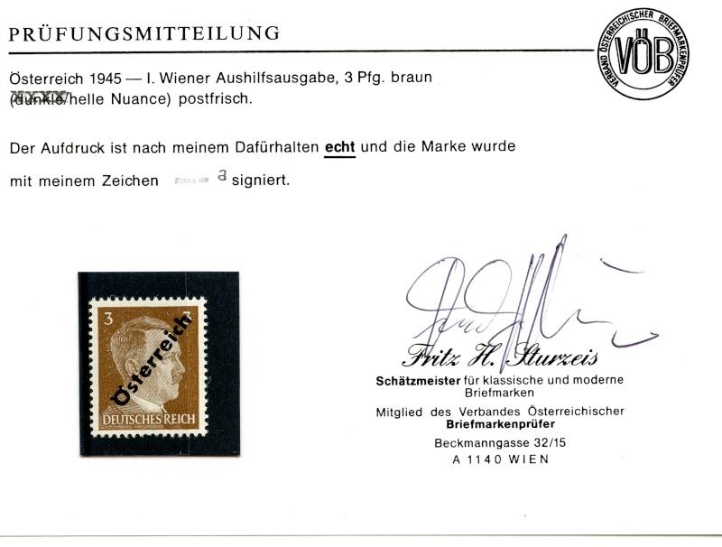 Briefmarken - I. Wiener Aushilfsausgabe, erste Ausgabe Img33710