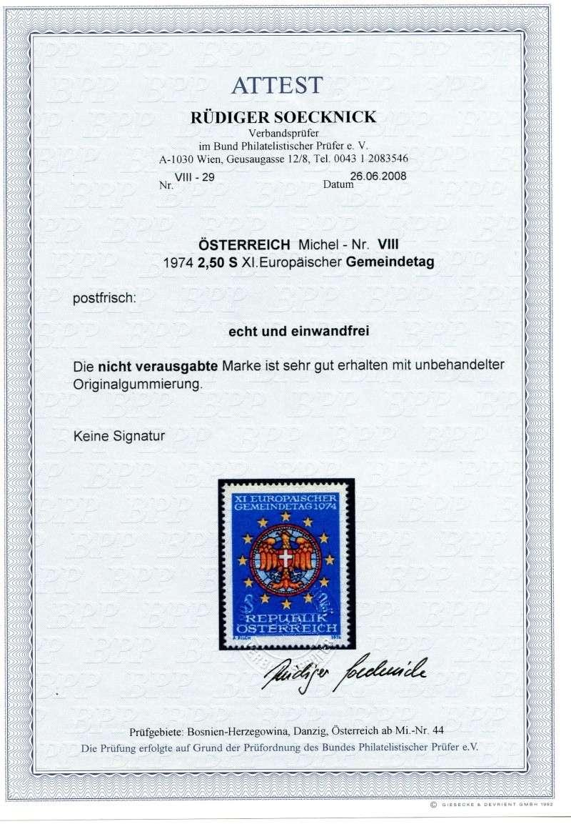 Unverausgabte Marken von Österreich Img40810