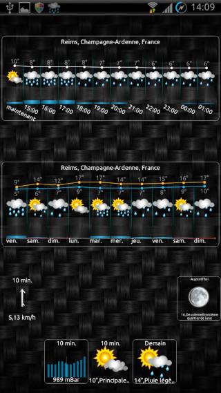 [SOFT] EWEATHER HD : météo complète,  heure par heure et à 10 jours [Payant] 00810