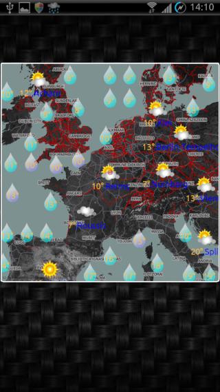[SOFT] EWEATHER HD : météo complète,  heure par heure et à 10 jours [Payant] 01110
