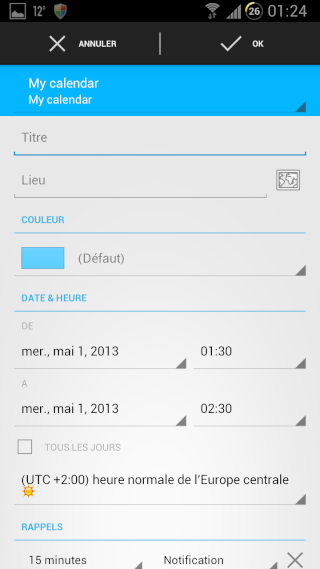 [APPLICATION ANDROID - DIGICAL CALENDRIER ET WIDGET] calendrier et widget[Gratuit/Payant] Creati10