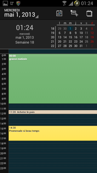[APPLICATION ANDROID - DIGICAL CALENDRIER ET WIDGET] calendrier et widget[Gratuit/Payant] Vue_jo10