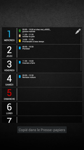 [APPLICATION ANDROID - DIGICAL CALENDRIER ET WIDGET] calendrier et widget[Gratuit/Payant] Widget12
