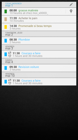 [APPLICATION ANDROID - DIGICAL CALENDRIER ET WIDGET] calendrier et widget[Gratuit/Payant] Widget15