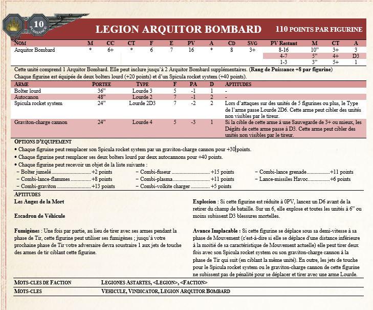 [Règles] Projet Horus Heresy V8 : Legiones Astartes - Page 41 Captur36