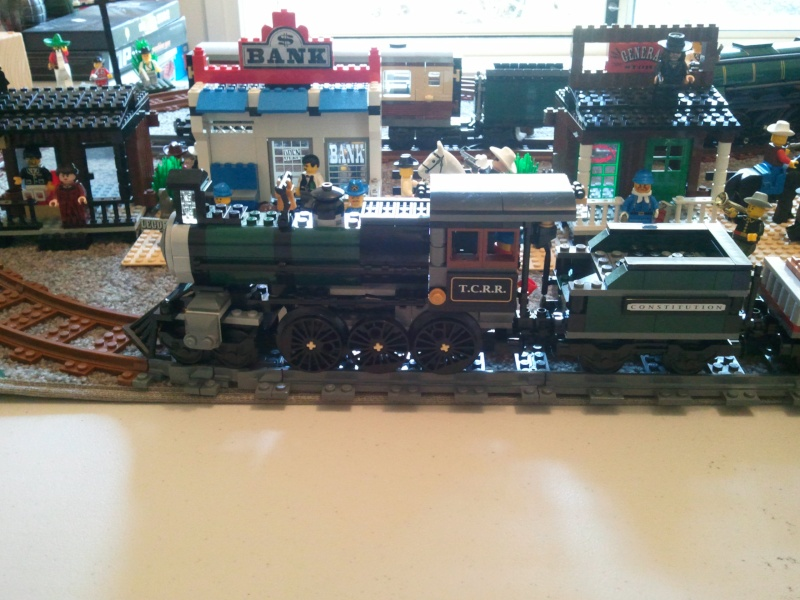 My little Wild West town with Constitution Train Photo010