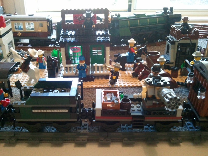 My little Wild West town with Constitution Train Photo011