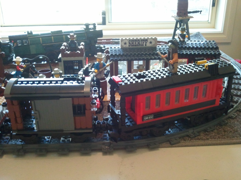 My little Wild West town with Constitution Train Photo012
