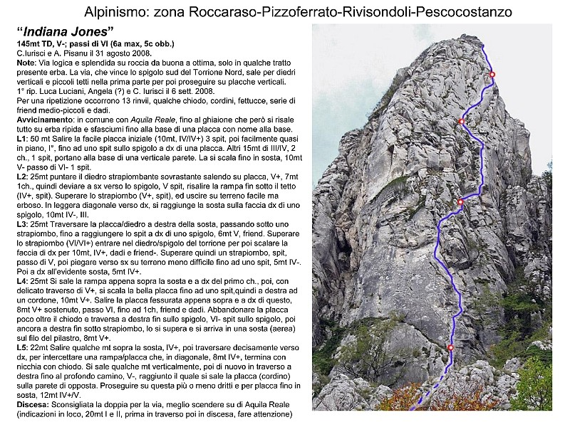 Majella - Alpinismo e Falesie Indian10