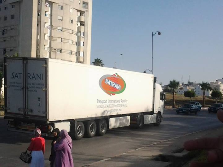 Transport Satrani (Groupe Aberchan) Maroc 99476610