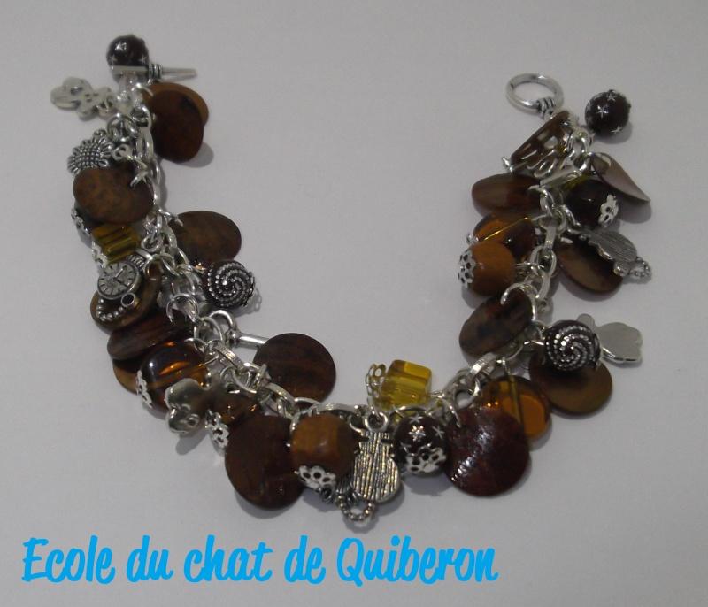 Les bracelets...100% Fait-main, au profit de l'ECQ! Dscf1612