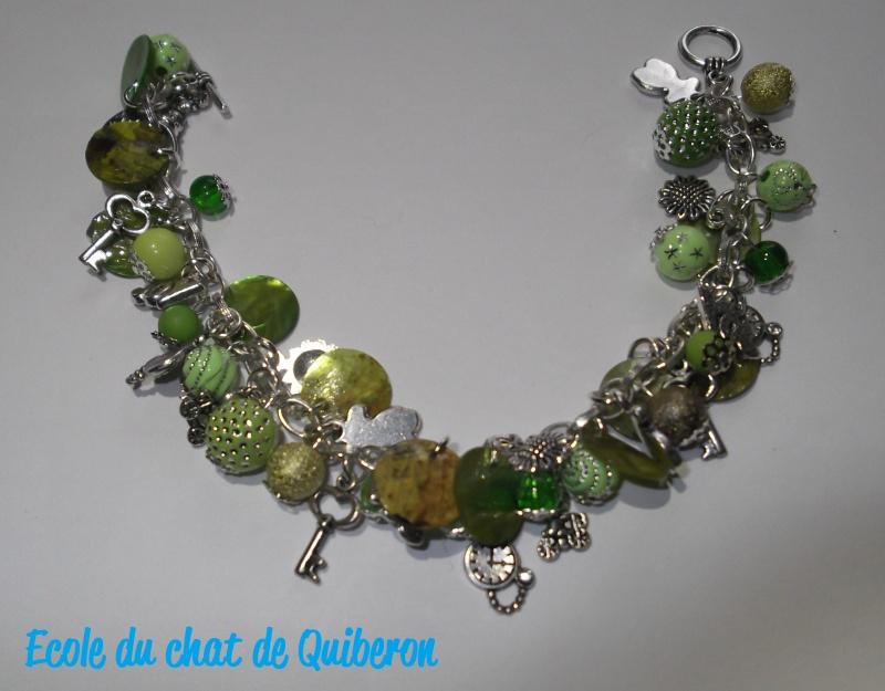 Les bracelets...100% Fait-main, au profit de l'ECQ! Dscf1613