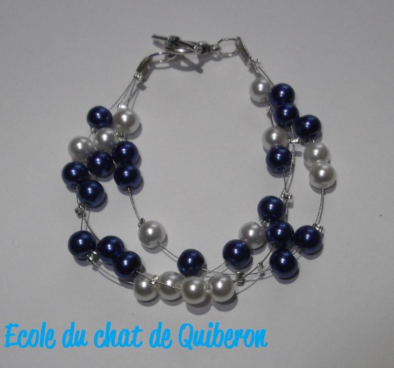 Les bracelets...100% Fait-main, au profit de l'ECQ! Dscf1614