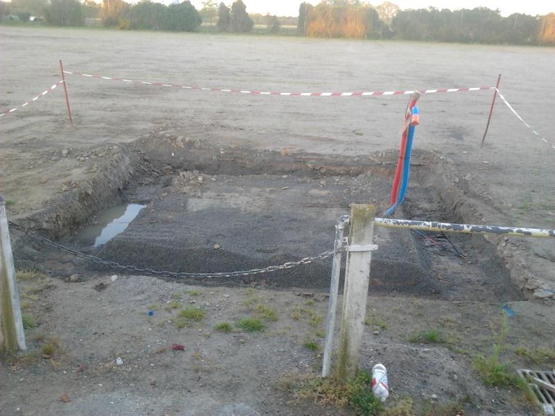 avancement des travaux du terrain exterieur 2013-013