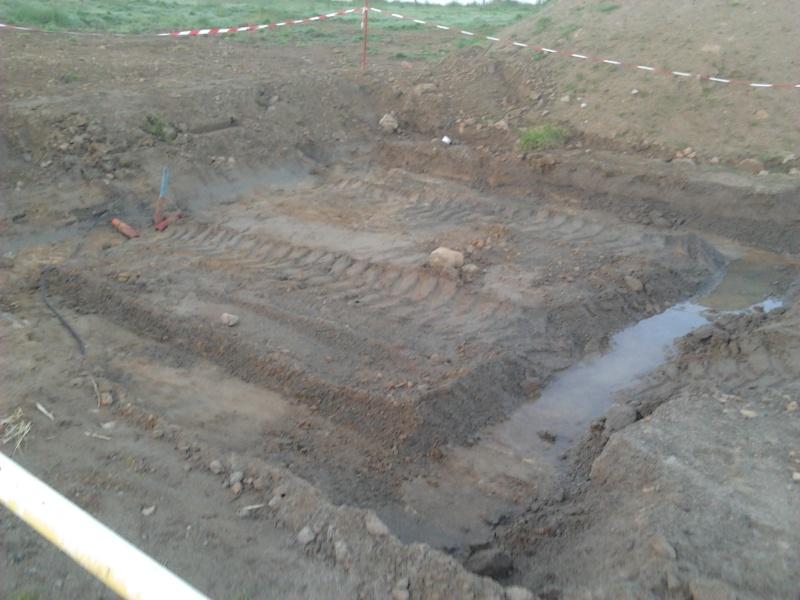 avancement des travaux du terrain exterieur 2013-014