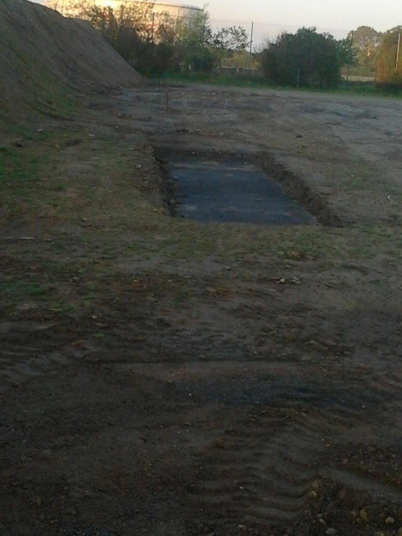 avancement des travaux du terrain exterieur 2013-015