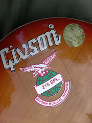 Odd Westone labelled guitars -- NOTsumoku Givson10