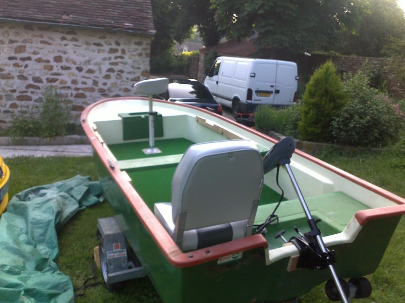 Conseil peche en bateau sur notre Dame Seine! 10062011