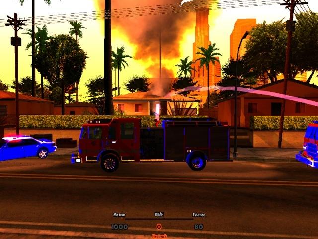 | Los Santos Fire Department | Sa-mp-15