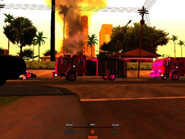 | Los Santos Fire Department | Sa-mp-16