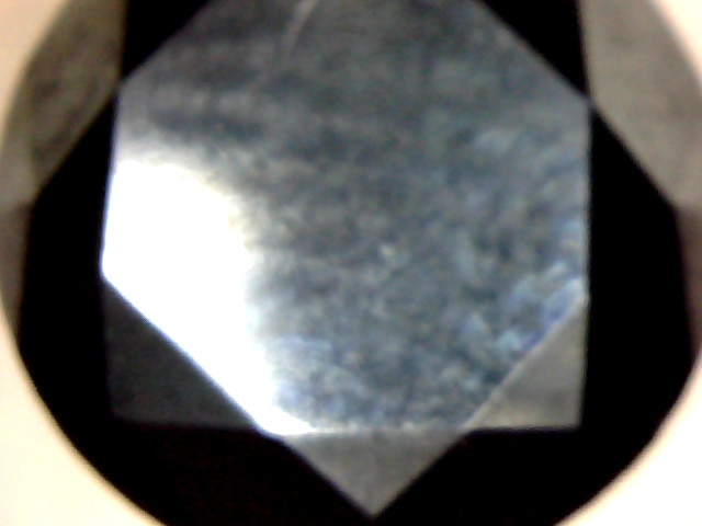 Jonc en argent  avec 2 mini diamant noir  2012-110