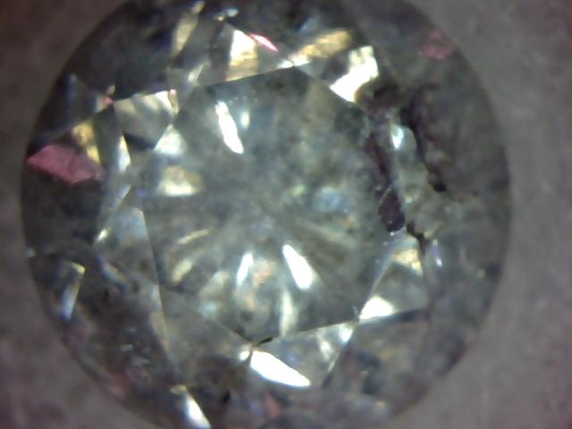 Jonc en argent  avec 2 mini diamant noir  2013-010