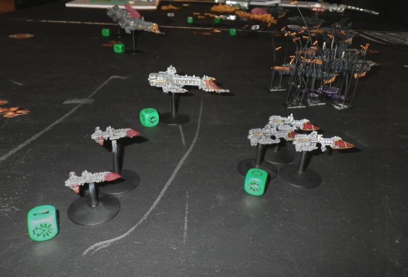 [Chaos vs TAU/Navy] Black Legion (2000pts) VS alliance Taus/Navy (1000pts chacuns) Imgp0710