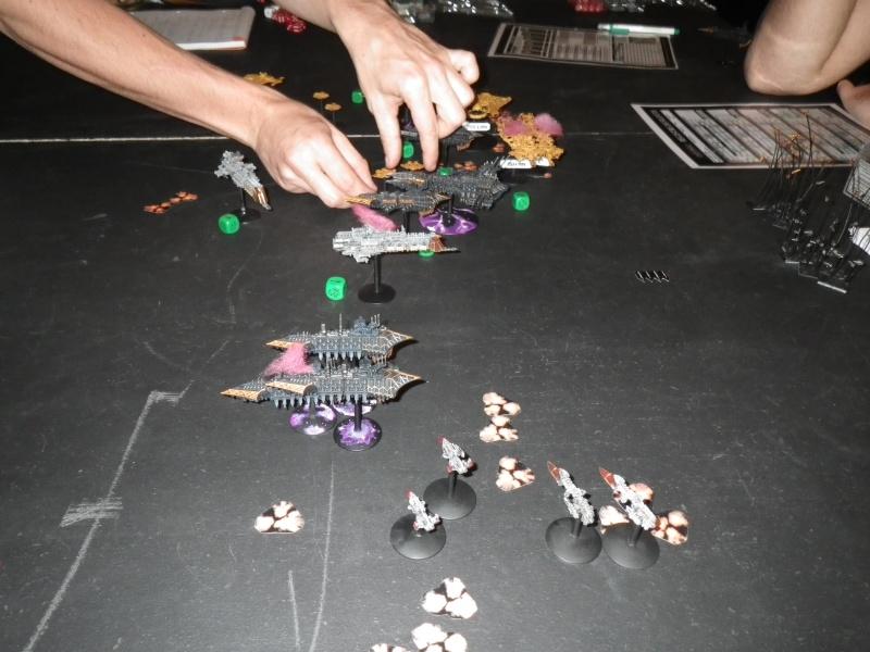 [Chaos vs TAU/Navy] Black Legion (2000pts) VS alliance Taus/Navy (1000pts chacuns) Imgp0711