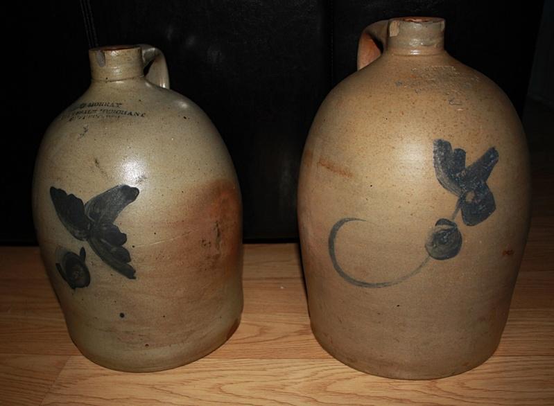 2 cruches à fleur de Sherbrooke Cruche10