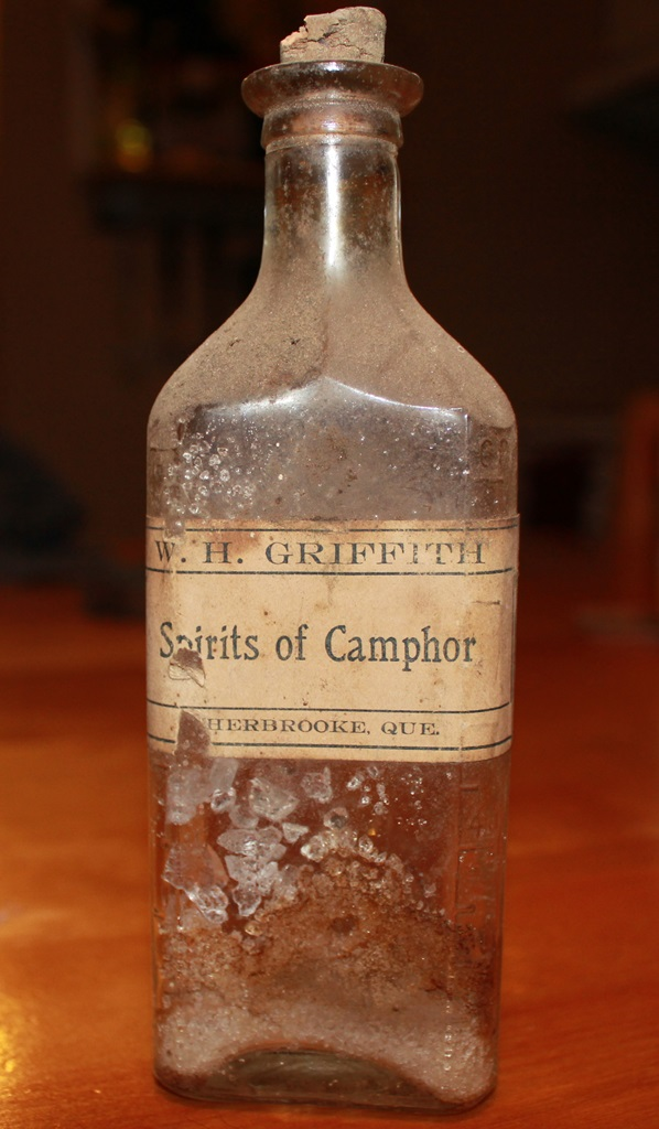 Spirits of camphor, W.H. Griffith, Sherbrooke Img_9410