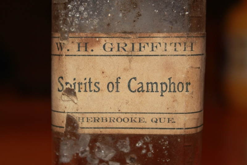 Spirits of camphor, W.H. Griffith, Sherbrooke Img_9411