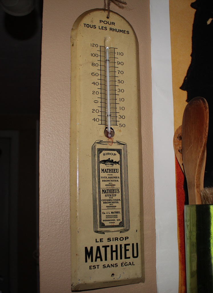Thermomètre sirop Mathieu - Sherbrooke Thermo10
