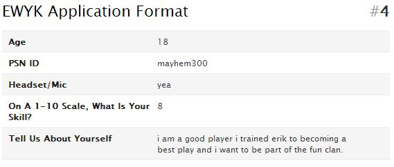mayhem300 application to EWYK attempt Wufoo_10