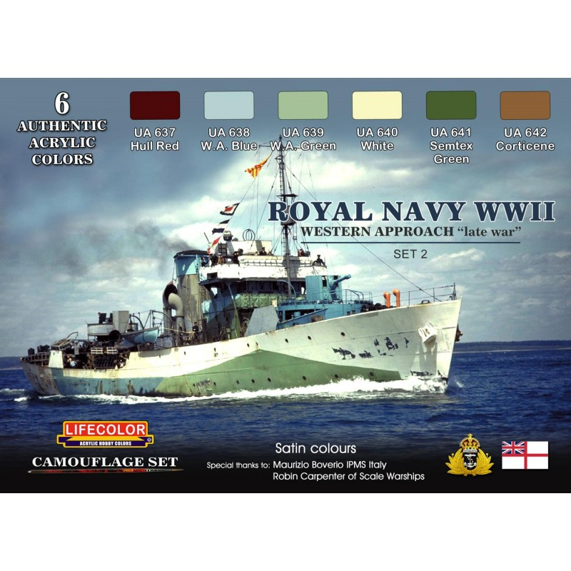 Camouflages Royal Navy 1939 1945. 1938-t10