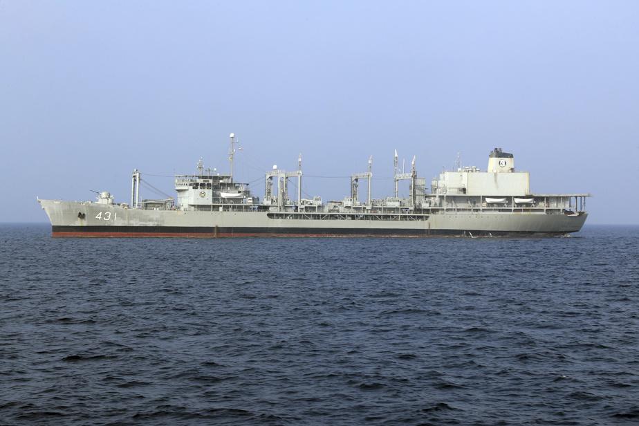 La marine iranienne annonce le naufrage d'un ravitailleur en 4b162010