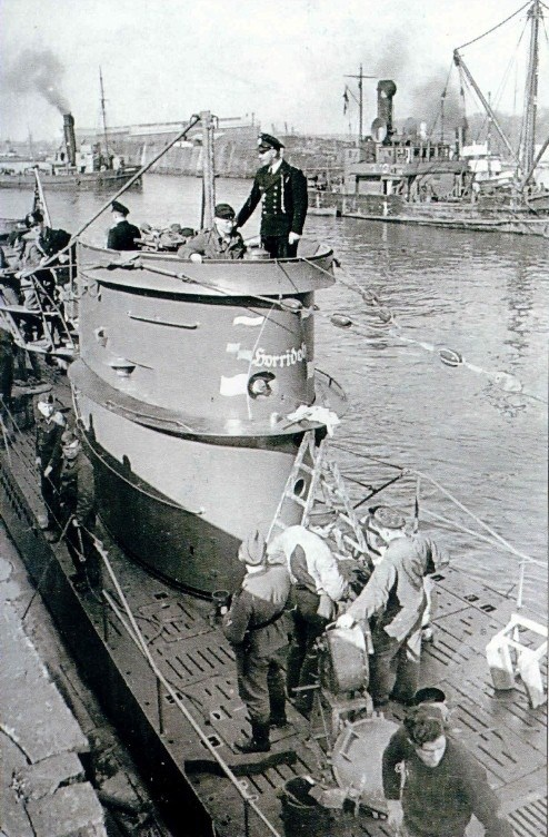 Les U-Boote, sous-marins de la Kriegsmarine - Page 5 6948e710